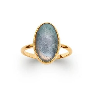 Bague Emma Labradorite Or