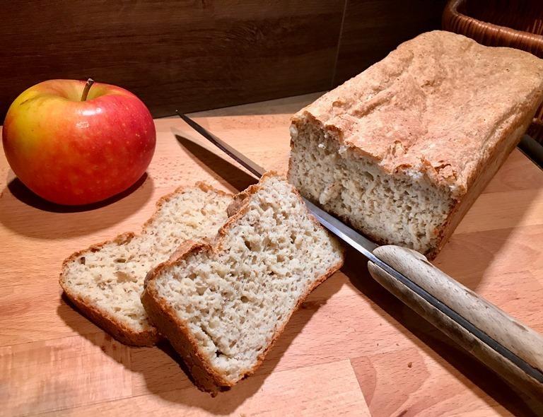 Pain sans gluten farine d'amarante et de châtaigne