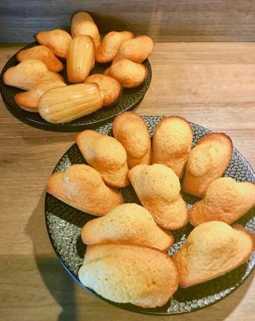 """Alt=""""madeleines recette sans gluten et sans lactose par Cathy Ducasse"""""""