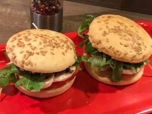 2 hamburguers vegan