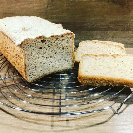 pain sans gluten aux farines complètes