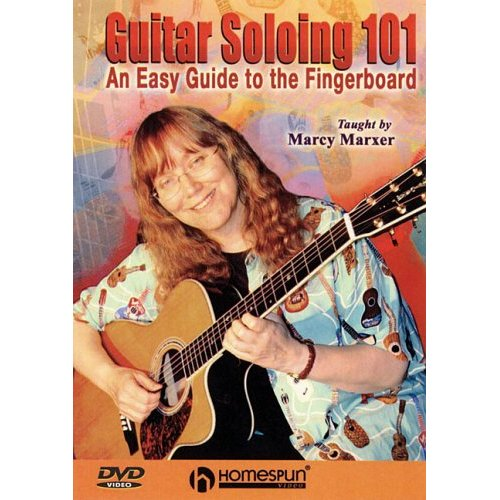 GUITAR SOLOING 101 AN EASY GUIDE TO THE FINGERBOARD (DVD) - Cathy Fink &  Marcy Marxer