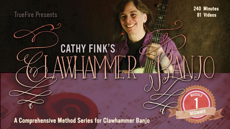 TrueFire.com Download Cathy's Clawhammer Banjo Beginner Module 1