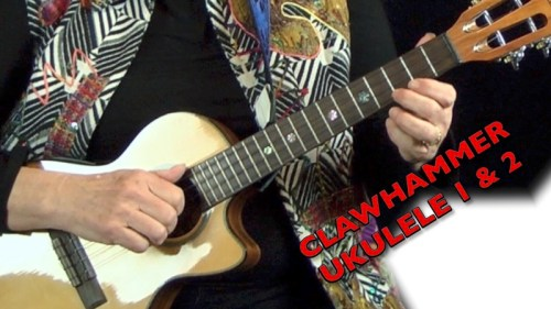 Cathy Fink Clawhammer Uke Modules 1 & 2