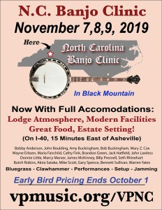 Cathy Teaches Banjo, Marcy Teaches Guitar @ North Carolina Banjo Clinic, Blue Ridge Assembly | Black Mountain | North Carolina | United States