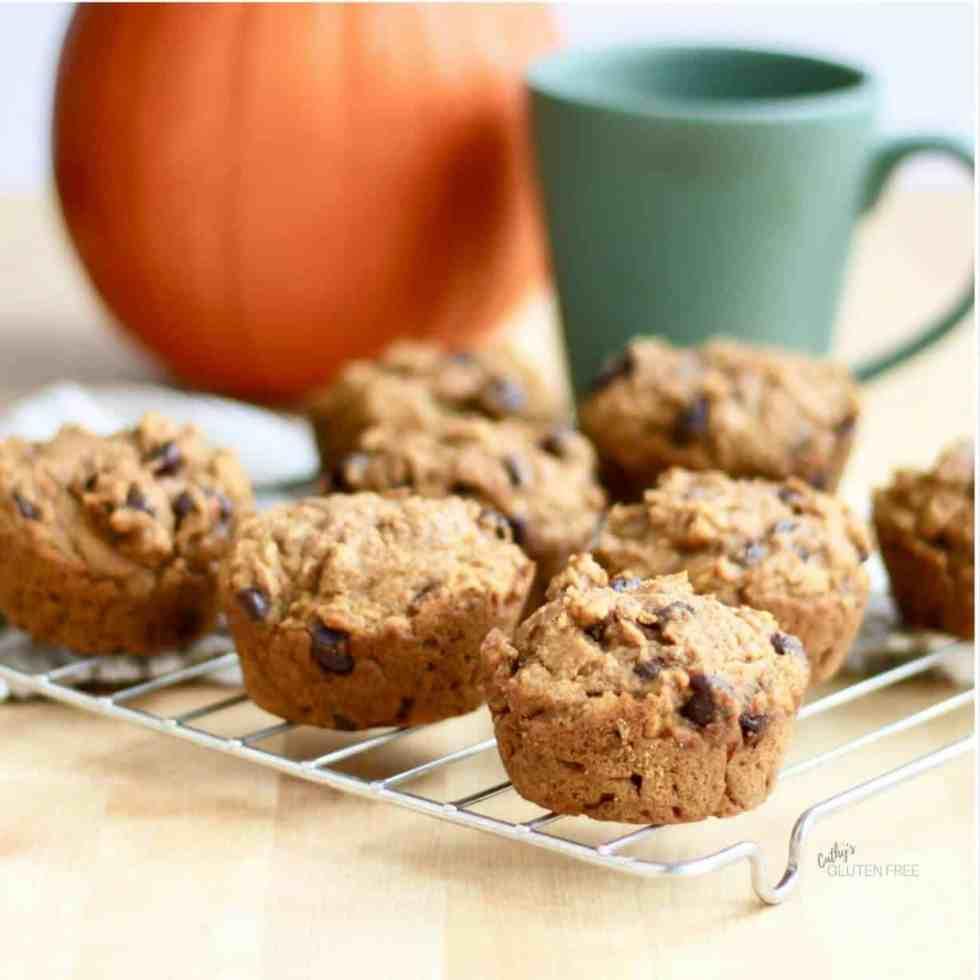 Pumpkin Spice Muffins CathysGlutenFree.com
