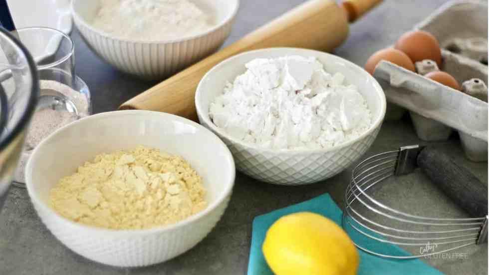 Gluten Free Pie Crust Ingredients CathysGlutenFree.com