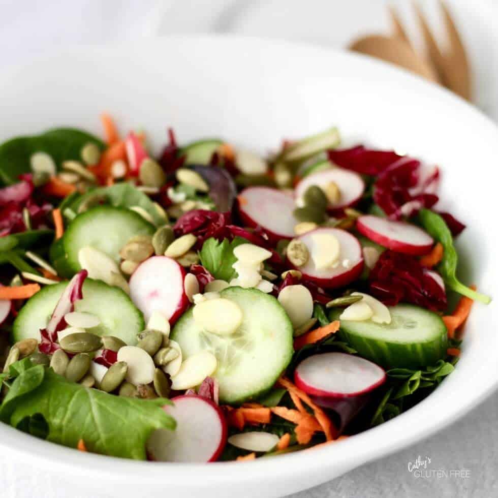 Personalized garden salad
