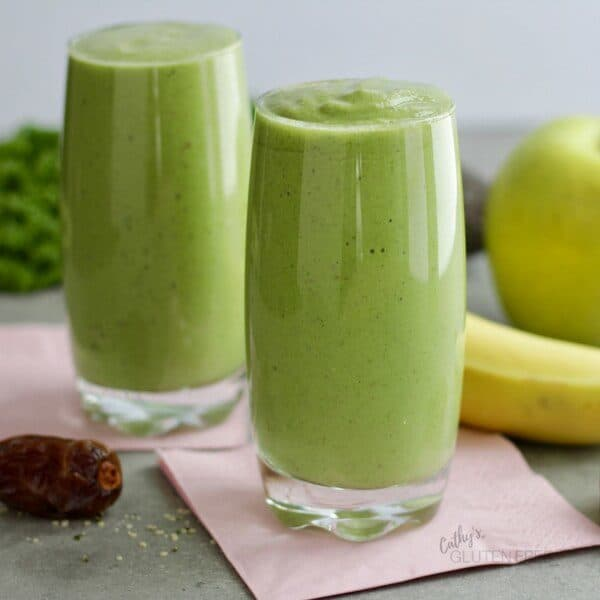 Healthy Green Dairy Free Smoothie