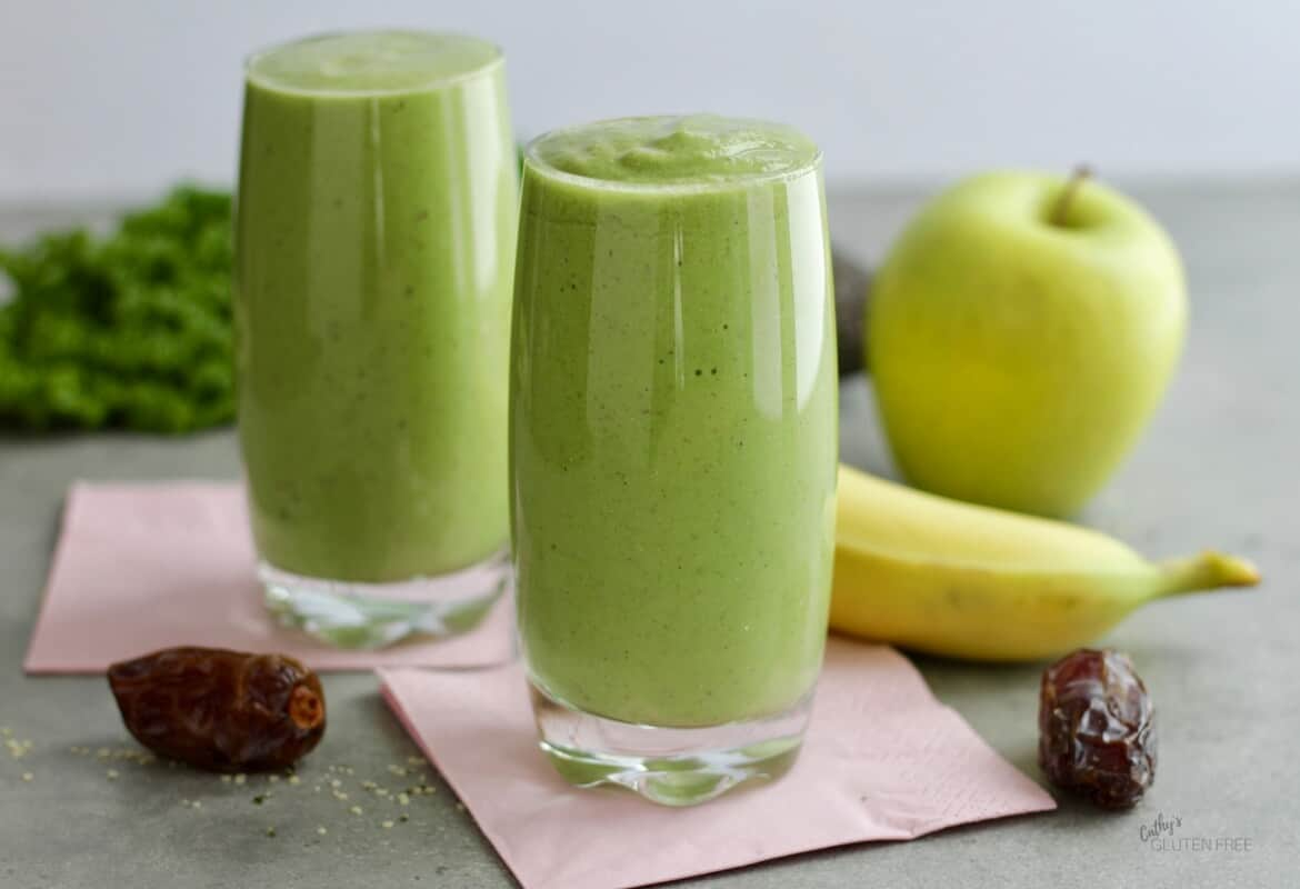 Healthy Green Smoothie | Dairy Free, Gluten Free