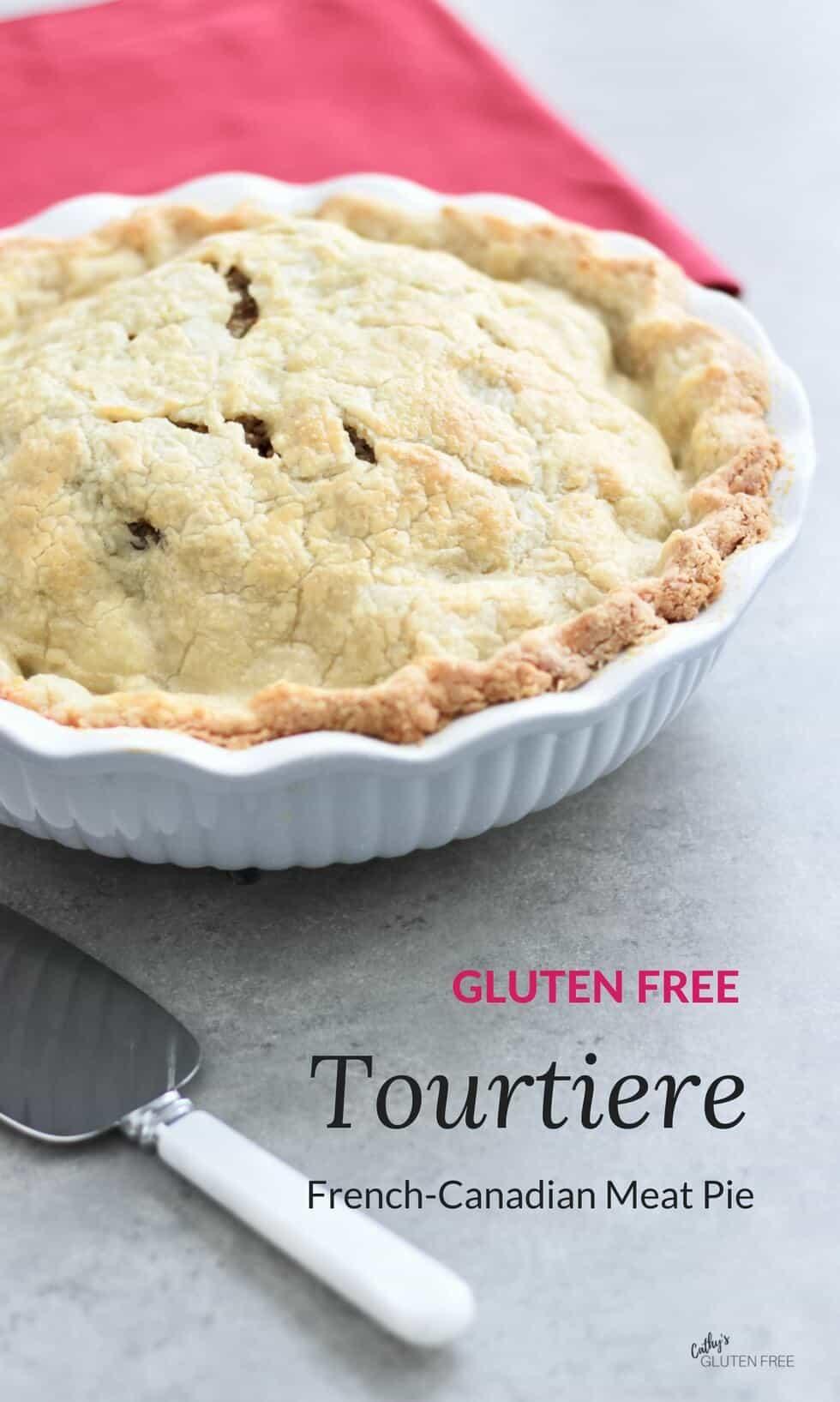 Tourtiere: Quebec Pork Pie   gluten free, nightshade free, dairy free