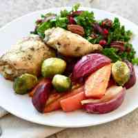 Sheet Pan Dinner with Chicken and Vegetables
