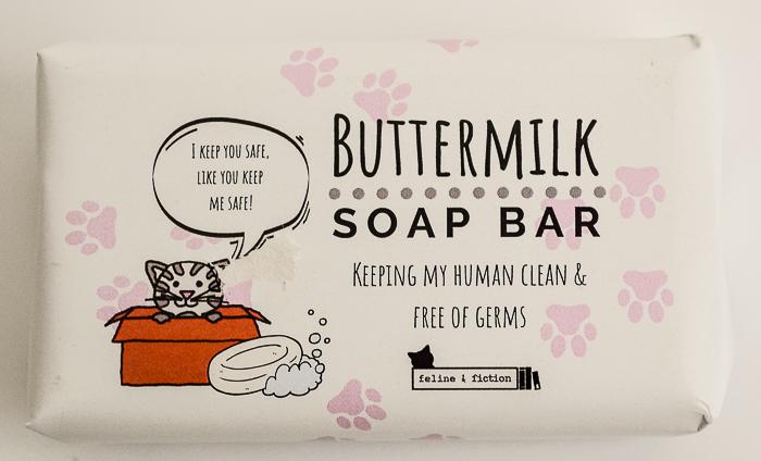 Buttermilk soap bar