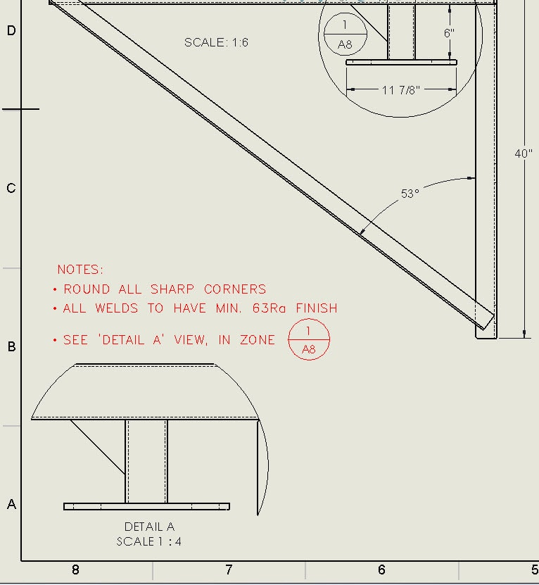 SOLIDWORKS: Adding Zone Location to Detail Views and