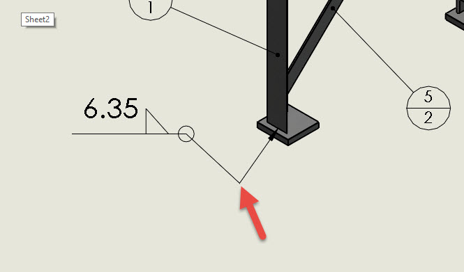 SOLIDWORKS: How to Create a Jog in a SOLIDWORKS Weld Symbol