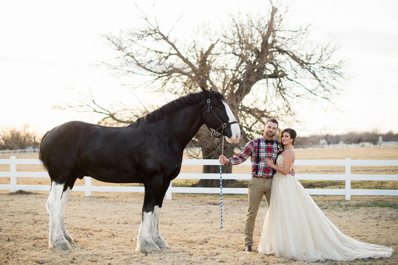 A Beautiful Rustic Winter Wedding Inspiration Shoot  Yukon Oklahoma Wedding Photographer