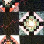 Wall Street Pattern Quilt (detail) - SAMPLE