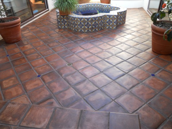 Terracotta Mexican Tile Pavers