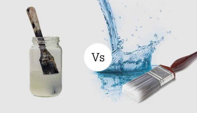 cat water based vs solvent based