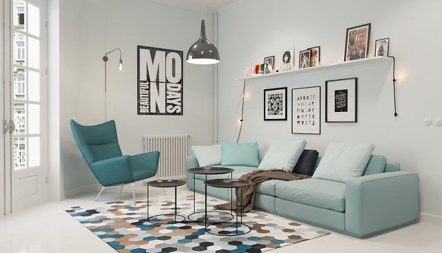 Tips Membuat Dekorasi Ruang Keluarga Gaya Scandinavian