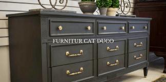 Jenis Furniture yang Menggunakan Cat Duco Kayu