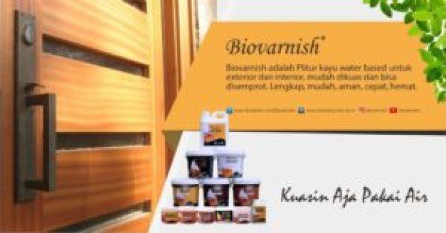 finishing kusen dengan biovarnish