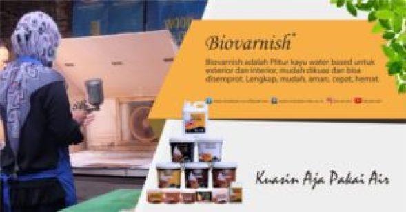 finishing cat water based biovarnish