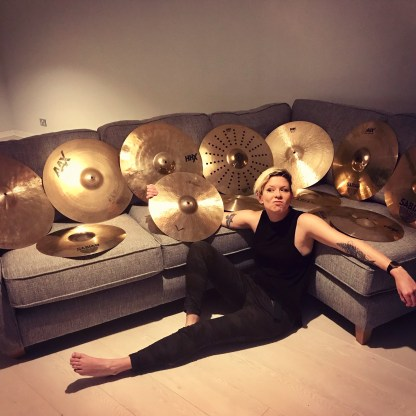 Proud to Play Sabian!