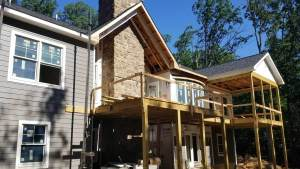 second story deck in maryland