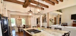 home improvement contractor: open concept custom design