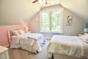 pitched roof new bedroom remodel