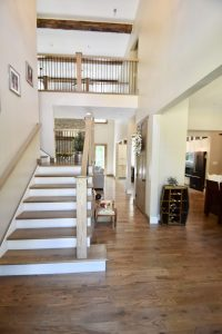 stair and hallway remodel
