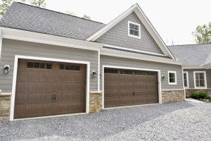 new garage doors wooden look