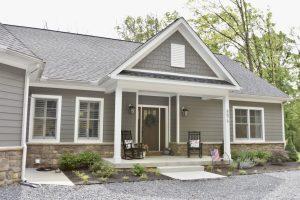 custom home construction grey