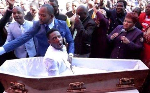 video funerarias processam pastor acusado de simular ressurreicao video de homem ressuscitando assista