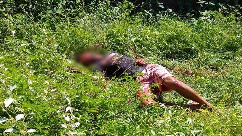 homicidio e registrado na manha de hoje no sertao do estado