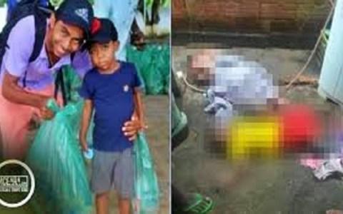 crianca ver o pai sendo eletrocutado tenta salva lo mas acaba morrendo assista