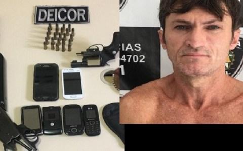 policia civil prende em patu rn acusado por homicidios e posse ilegal de armas