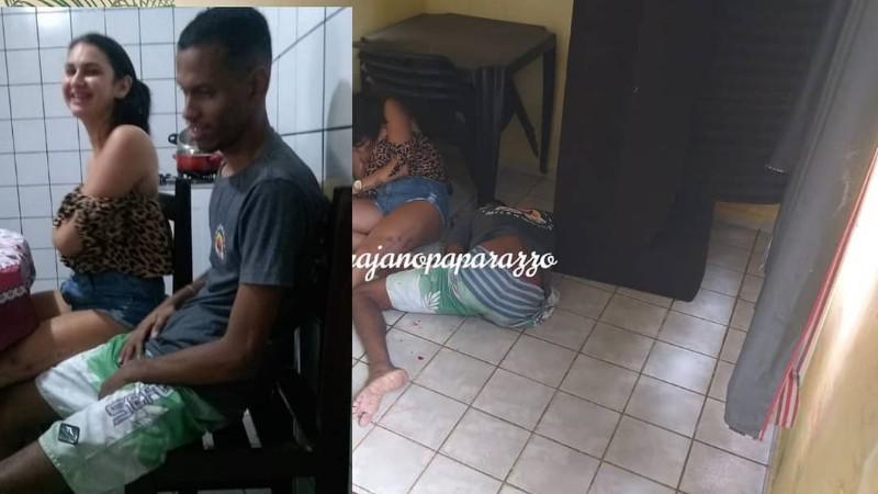 duplo homicidio casal e executado a tiros dentro de residencia na paraiba