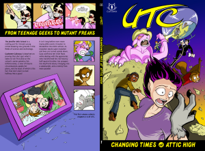 Wraparound cover to UTC Volume 1, second edition
