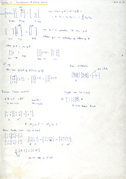MIT Linear Algebra, Lecture 3: Matrix Multiplication and