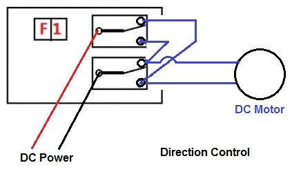 2 pole relay wiring diagram howse bush hog parts need help for motor reverse general electric imp forums direction control using relays both must switch at the same time or you will short out your power supply