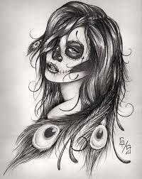 catrinas,diseños,bocetos,tatuajes (39)