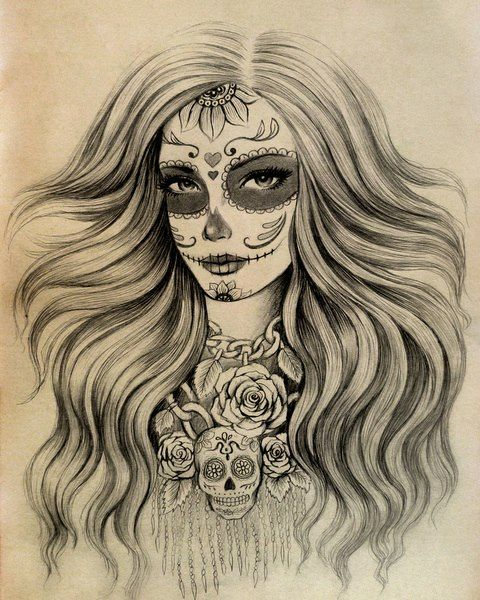 20 Face Tattoos Black And White Sugar Ideas And Designs