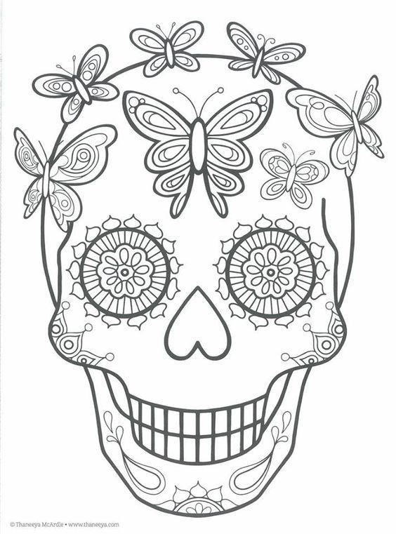 imagenes,catrinas,calaveras,mexicanas,colorear,17