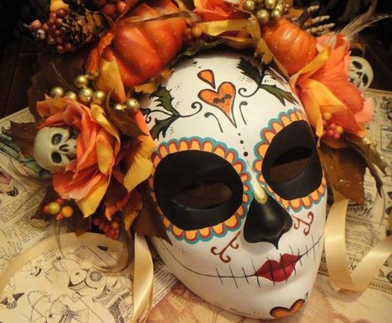 Máscaras de Catrinas Imágenes para inspirarte y Cómo hacerlas