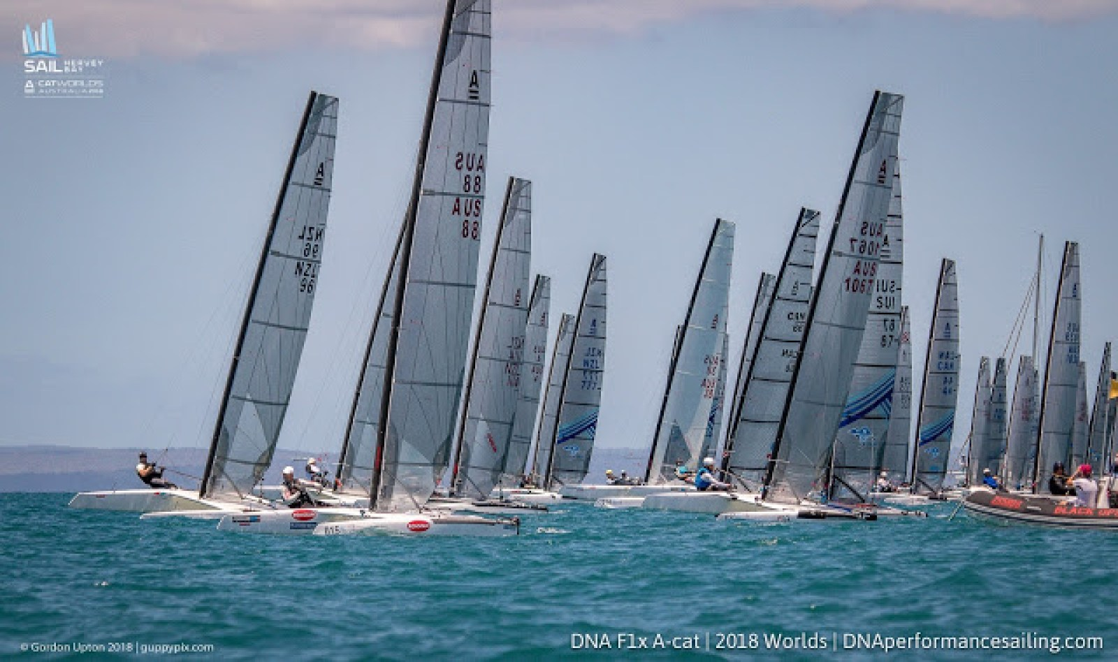 A-Class Worlds 2018 @Hervey Bay: Day 3 – Catamaran Racing , News