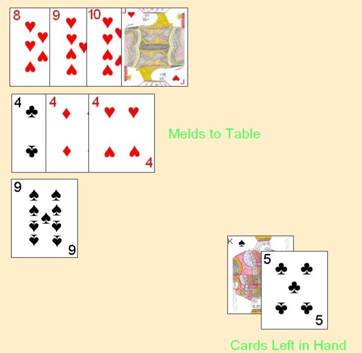 500 Rummy Card Game Instructions Poemview
