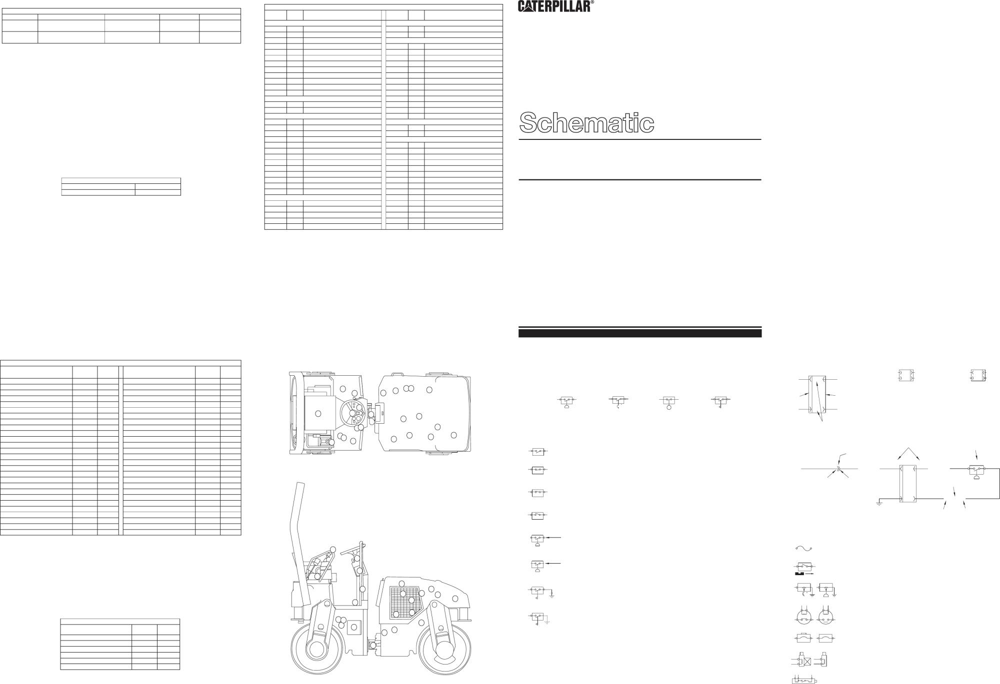 hight resolution of cb 214d cb 224d cb 225d vibratory compactors electrical schematic 2000 caterpillar