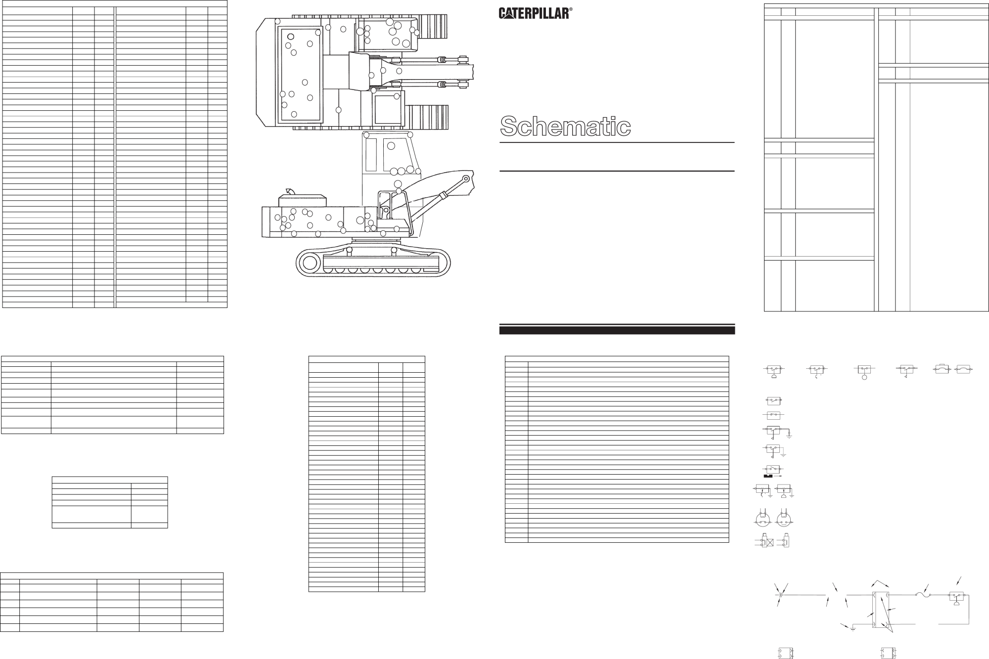 hight resolution of 325b material handler electrical schematic used in service manual cat 325b wiring diagram